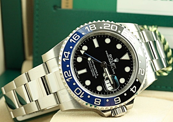 รับซื้อRolex GMT Blue Black Batman
